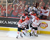 John Tavares (Canada - 19), Cody Hodgson (Canada - 18), Jordan Eberle (Canada - 14), ?, Ryan Ellis (Canada - 8) - Canada defeated Russia 6-5 on Saturday, January 3, 2009, at Scotiabank Place in Kanata (Ottawa), Ontario during the 2009 World Junior Championship.