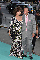 Joan Collins and husband Percy Gibson at the V&amp;A&rsquo;s summer party at the Victoria and Albert Museum, London, England on June 22, 2016<br /> CAP/PL<br /> &copy;Phil Loftus/Capital Pictures /MediaPunch ***NORTH AND SOUTH AMERICAS ONLY***