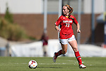 06 October 2013: Maryland's Shannon Collins. The University of North Carolina Tar Heels hosted the University of Maryland Terrapins at Fetzer Field in Chapel Hill, NC in a 2013 NCAA Division I Women's Soccer match. UNC won the game 3-1.