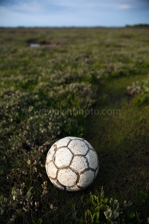 Found football, Bull Island, Dublin. Limited edition C-Type Prints available - contact me for more details.