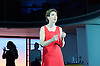Pedro Almodovar's<br /> Women on the Verge of a nervous breakdown The Musical <br /> at the Playhouse Theatre, London, Great Britain <br /> press photocall<br /> 23rd December 2014 <br /> <br /> Tamsin Greig as Pepa <br /> <br /> <br /> <br /> Photograph by Elliott Franks <br /> Image licensed to Elliott Franks Photography Services
