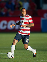 03 June 2012: US Men's National Soccer Team midfielder Jermaine Jones #13 in action during an international friendly soccer match between the United States Men's National Soccer Team and the Canadian Men's National Soccer Team at BMO Field in Toronto.