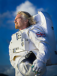 Richard Branson photographed on  his private Island, Necker Island, BVI for a Time Magazine story about Virgin Galactic - Space Ship One flights on December 24, 2006