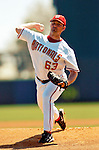 8 March 2006: Kyle Denney, pitcher for the Washington Nationals, winds up on the mound during a Spring Training game against the St. Louis Cardinals. The Cardinals defeated the Nationals 7-4 in 10 innings at Space Coast Stadium, in Viera, Florida...Mandatory Photo Credit: Ed Wolfstein.