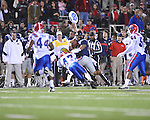 Ole Miss quarterback Randall Mackey (1) vs. Louisiana Tech in Oxford, Miss. on Saturday, November 12, 2011. (AP Photo/Oxford Eagle, Bruce Newman..