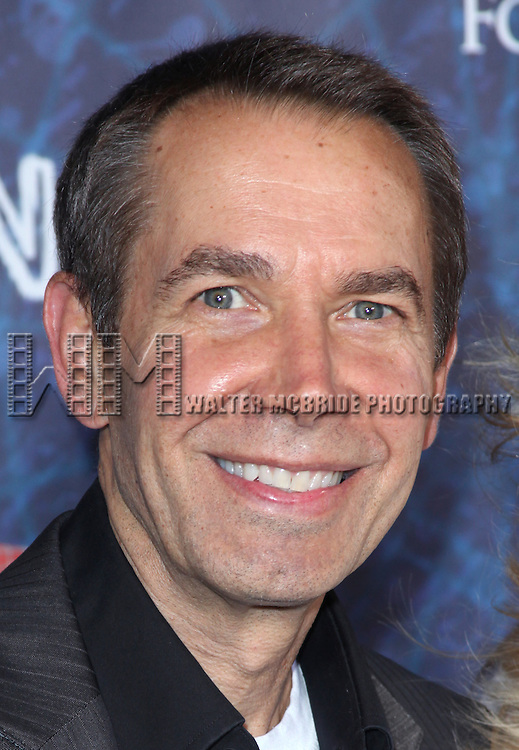Jeff Koons.attending the Opening Night Performance of 'Spider-Man Turn Off The Dark' at the Foxwoods Theatre in New York City.