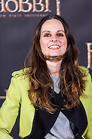 "Ana Locking attends  ""The Hobbit: An Unexpected Journey"" premiere at the Callao cinema- Madrid."