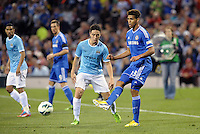 Ruben Loftus-Cheek, Chelsea in action..Manchester City defeated Chelsea 4-3 in an international friendly at Busch Stadium, St Louis, Missouri.