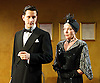 The Art of Concealment <br /> The Life of Terence Rattigan<br /> a new play by Giles Cole<br /> directed by Knight Mantell<br /> designed by Meg Witts<br /> at the Jermyn Street Theatre, London, Great Britain <br /> press photocall<br /> 10th January 2011 <br /> <br /> Dominic Tighe (Younger Rattigan)<br /> Judy Buxton (as Vera Rattigan)<br /> <br /> Photograph by Elliott Franks