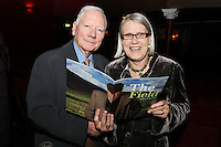 """NO REPRO FEE. 17/1/2010. The Field opening night. Gay Byrne and Darina Allen are pictured at the Olympia Theatre for the opening night of John B Keanes 'The Field"""" Picture James Horan/Collins"""