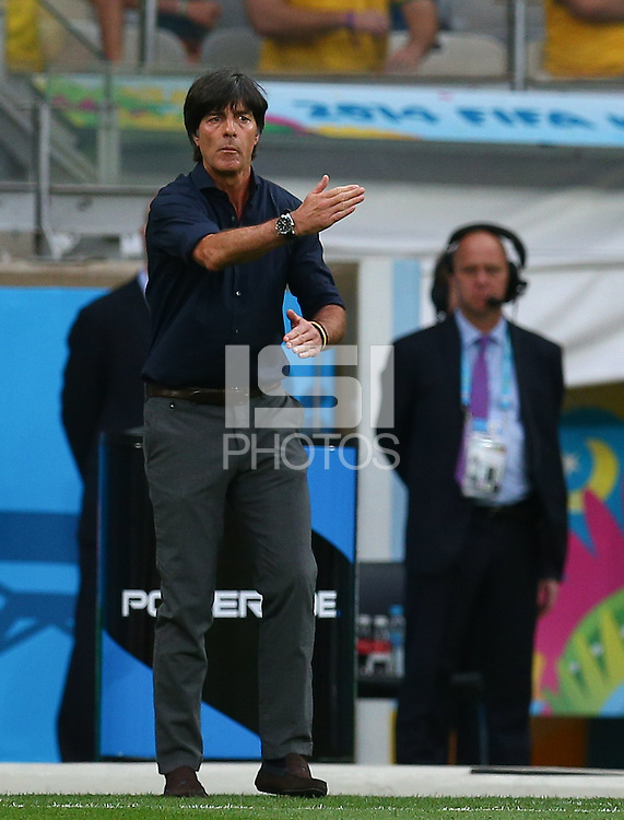Germany coach Joachim Loew gestures on the touchline