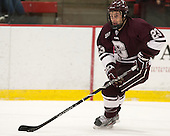 Ryan Johnston (Colgate - 23) - The Harvard University Crimson defeated the Colgate University Raiders 4-1 (EN) on Friday, February 15, 2013, at the Bright Hockey Center in Cambridge, Massachusetts.