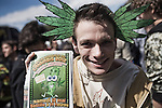 World March for the legalization of cannabis, may 12th 2012 in Paris