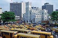 City scene, Lagos, Nigeria.