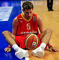 Fernandez Rudy from Spain during round 2, group E, basketball game between Germany and Spain  in Vilnius, Lithuania, Eurobasket 2011, Wednesday, September 7, 2011. (photo: Pedja Milosavljevic)