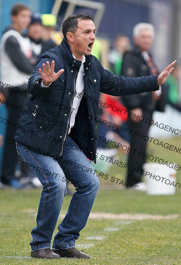 Fudbal, Jelen super liga, sezona 2011/12.Crvena Zvezda VS. Rad.Head coach Nebojsa Vignjevic.Belgrade, 04.12.2011..foto: Srdjan Stevanovic/Starsportphoto ©