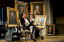 Bath, UK. 09.07.2012. THE SCHOOL FOR SCANDAL opens the Theatre Royal Bath's summer season of new in-house productions, overseen by leading guest director, Jamie Lloyd. Picture shows: nigel Harman (Charles Surface) and Matthew Seadon-Young (Trip). Photo credit: Jane Hobson