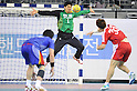 Katsuyuki Shinouchi (JPN), NOVEMBER 2, 2011 - Handball : Katsuyuki Shinouchi of Japan during the Asian Men's Qualification for the London 2012 Olympic Games final match between South Korea 26-21 Japan in Seoul, South Korea.  (Photo by Takahisa Hirano/AFLO)