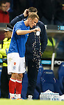Dean Shiels cools off in extra time