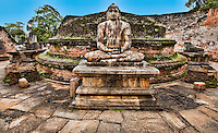 A serene Buddha amongst the ruins of the old city. (Photo by Matt Considine - Images of Asia Collection)