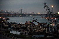 The river Danube divides the city of Belgrade into two halves, the more historic, old part of the city, and the area known as New Belgrade, where most of the city's inhabitants live in grey, soulless high rise apartment blocks. It is in these blocks that it is believed former Bosnian Serb general Ratko Mladic has been hiding since 2002 when the Serbian military stopped protecting him and forced him to leave the Topcider barracks in Belgrade. Mladic is one of the most sought after suspects from the Bosnia conflict. He has been indicted by the UN war crimes tribunal on charges of genocide and crimes against humanity.
