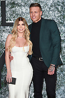 Olivia Buckland &amp; Alex Bowden at the European premiere of &quot;Collateral Beauty&quot; at the Vue Leicester Square, London. <br /> December 15, 2016<br /> Picture: Steve Vas/Featureflash/SilverHub 0208 004 5359/ 07711 972644 Editors@silverhubmedia.com