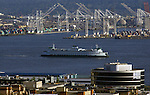Washington State Ferry departs Seattle Ferry terminal.  ©2014. Jim Bryant Photo. All Rights Reserved.
