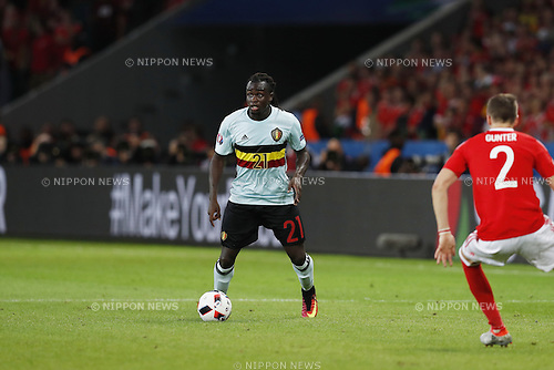 Jordan Lukaku (BEL), JULY 1, 2016 - Football / Soccer : UEFA EURO 2016 Quarter-finals match between Wales 3-1 Belgium at the Stade Pierre Mauroy in Lille Metropole, France. (Photo by Mutsu Kawamori/AFLO) [3604]
