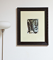 "Ed Moses, Dushay, 20"" x 24"",  Framed Digital Print"
