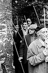 Beating the Bounds, St Michael's Church, Oxford, Oxfordshire England 1973