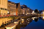 Canal; Ghent; Belgium; Europe
