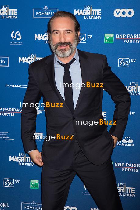 Jean Dujardin : 7&egrave;me C&eacute;r&eacute;monie des Magritte du Cin&eacute;ma, qui r&eacute;compense le septi&egrave;me art belge, au Square, &agrave; Bruxelles.<br /> 7th edition of the Magritte du Cinema awards ceremony.<br /> Belgium, Brussels, 4 February 2017