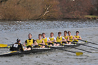 020 IM1.8+ Hampton Sch BC..Reading University Boat Club Head of the River 2012. Eights only. 4.6Km downstream on the Thames form Dreadnaught Reach and Pipers Island, Reading. Saturday 25 February 2012.
