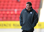 St Johnstone v St Mirren....04.10.14   SPFL<br /> Tommy Wright<br /> Picture by Graeme Hart.<br /> Copyright Perthshire Picture Agency<br /> Tel: 01738 623350  Mobile: 07990 594431