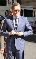 NEW YORK, NY-July 11: Bryan Cranston  at  the Late Show With Stephen Colbert  to talk about new movie the Infiltrator in New York. NY July 11, 2016. Credit:RW/MediaPunch