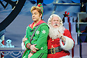 ELF THE MUSICAL opens at the Dominion Theatre, Tottenham Court Road. Picture shows: Ben Forster (Buddy), Mark Kerracher (Santa).