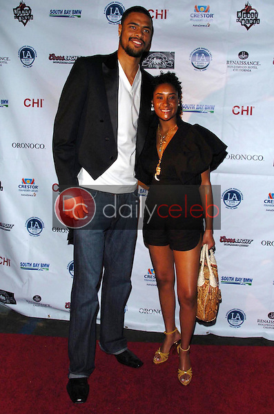 Tyson Chandler and guest<br />at A Midsummer Night's Glam Jam Fashion Show. House of Blues, West Hollywood, CA. 07-08-06<br />Scott Kirkland/DailyCeleb.com 818-249-4998