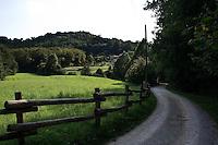 Parco Montevecchia Curone..Footpath of Montevecchia park