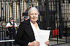 Vanessa Redgrave &amp; Lord Alf Dubs deliver letter to Downing Street on lone child refugees in Calais<br /> 5th August 2016<br />  <br /> Vanessa Redgrave not allowed to enter Downing Street to deliver letter because she only applied for access at 1630 on 4th August and you must give 5 days notice. Decision not to allow her entry was made by Police in conjunction with No. 10 Security. Vanessa Redgrave said that last time she was with Joanna Lumley and was allowed unto the door!<br /> <br /> <br /> Calling for an immediate amnesty for the unaccompanied minors in Calais identified by Citizens UK as having family in the UK. <br /> <br /> <br /> Photograph by Elliott Franks <br /> Image licensed to Elliott Franks Photography Services