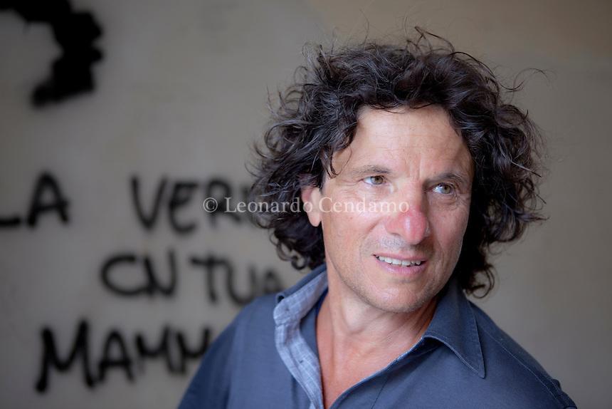 Maurizio Viroli, italian writer and pholosopher. Nard, 2011.  © Leonardo Cendamo