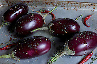 Roasting Eggplant