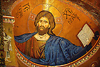 Byzantine mosaics of Jesus Christ in the Cathedral of Monreale - Palermo - Sicily Pictures, photos, images & fotos photography
