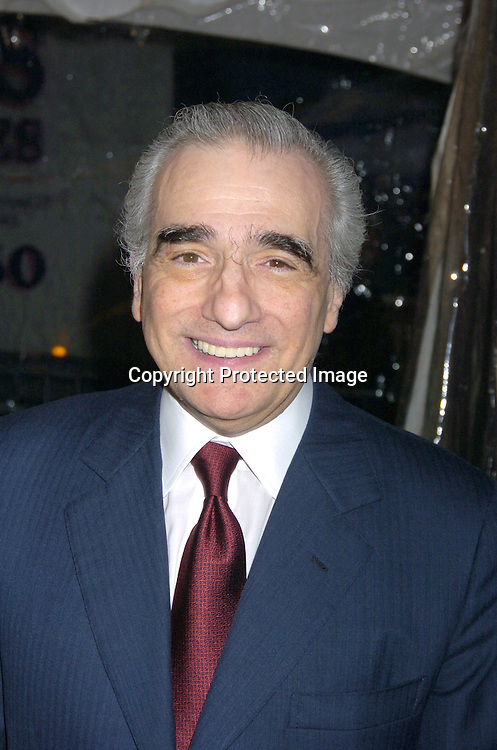 """Martin Scorsese ..at The New York Premiere of """"The Aviator"""" on December 14, 2004 at The Ziegfeld Theatre. ..Photo by Robin Platzer, Twin Images"""