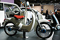 Honda EV-Cub on display during the first press day for the 41th Tokyo Motor Show, 21 October 2009 in Tokyo (Japan). The TMS will be open for the public from 23 October 2007 to 4 November 2009.