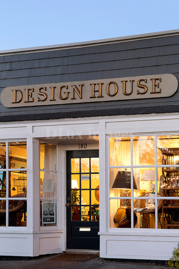 Store's facade<br /> <br /> Design House is a design firm located in Southampton New York. Owners Suzanne Caldwell and Maria Greenlaw offer a  full spectrum of bespoke design services and products to clients from the Hamptons to Manhattan as well as in Europe.