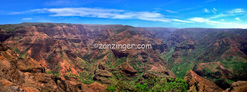 Hawaii Kauai Waimea Grand Canyon CGI Backgrounds, ,Beautiful Background