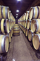 barrel aging cellar dom m juillot mercurey burgundy france