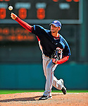 12 March 2009: Washington Nationals' pitcher Josh Towers on the mound during a Spring Training game against the Atlanta Braves at Disney's Wide World of Sports in Orlando, Florida. The Braves defeated the Nationals 6-2 in the Grapefruit League matchup. Mandatory Photo Credit: Ed Wolfstein Photo