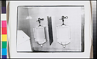 BNPS.co.uk (01202) 558833<br /> Picture: Warhol<br /> <br /> Andy Warhol picture of two urinals<br /> <br /> Never-before-seen photographs of celebrities captured in informal moments by the artist Andy Warhol are to be sold. The American pop artist used photography as a medium of art towards the end of his career and had a tendency to snap spontaneous moments. Many of his subjects were showbiz friends who frequented the same nightclubs as Warhol or visited his luxurious beach house or vast 'factory'. They included the likes of John Lennon, Mick Jagger, Elizabeth Taylor, Madonna, Sting, Bruce Springstein, Lizi Minnelli, Diana Ross and Debbie Harry. At the other end of the scale, he also turned his eye to capturing domestic items such as a room service tray, hotel chandeliers and even a row of urinals.