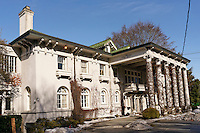 The Edwardian era Hycroft Manor that houses the University Women's Club, Shaughnessy Heights, Vancouver, British Columbia, Canada